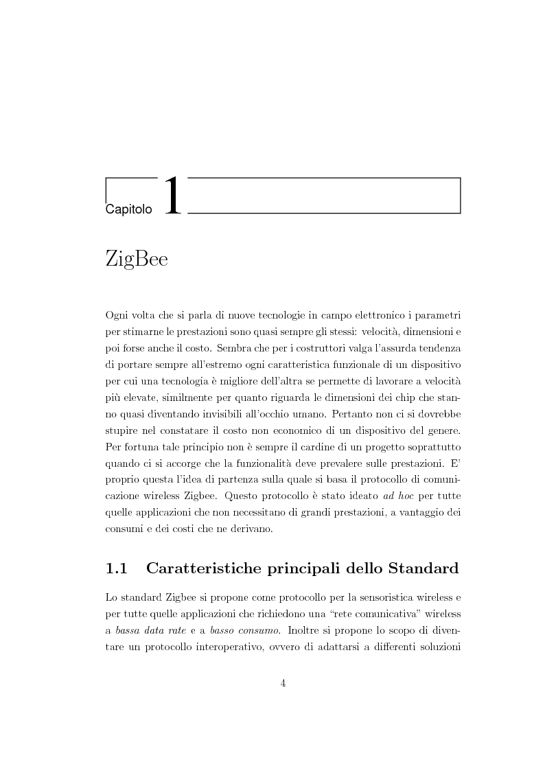 Anteprima della tesi: Criteri di pianificazione per l'ottimizzazione dei consumi energetici nell'ambiente domestico, Pagina 5