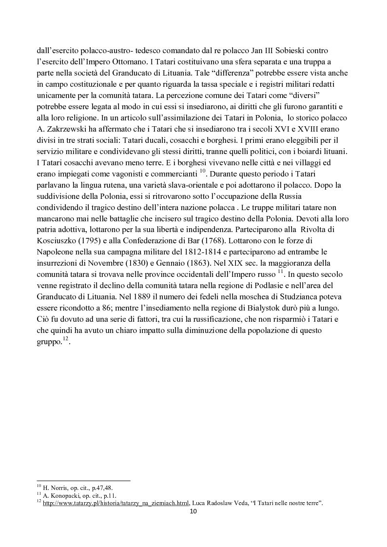 Anteprima della tesi: La diffusione dell'Islam in Polonia dalle origini ad oggi., Pagina 6