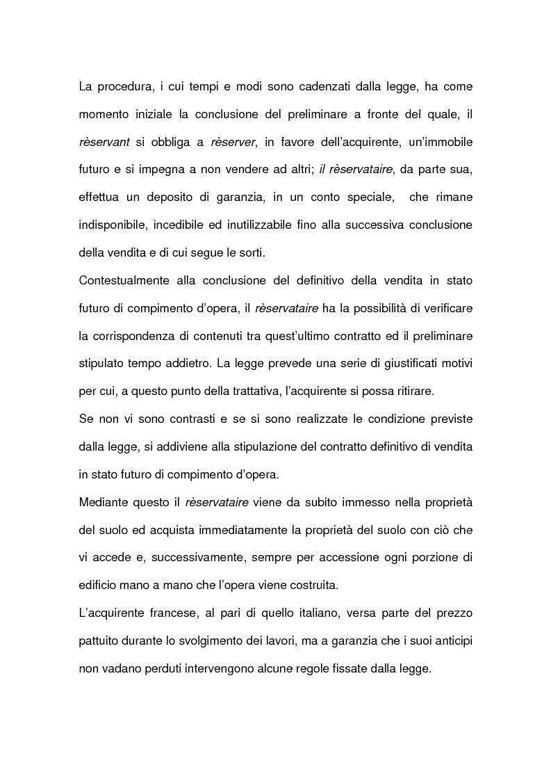 Anteprima della tesi: I contratti relativi ad edifici in corso di costruzione: preliminare di vendita, vendita di cosa futura, appalto, Pagina 3