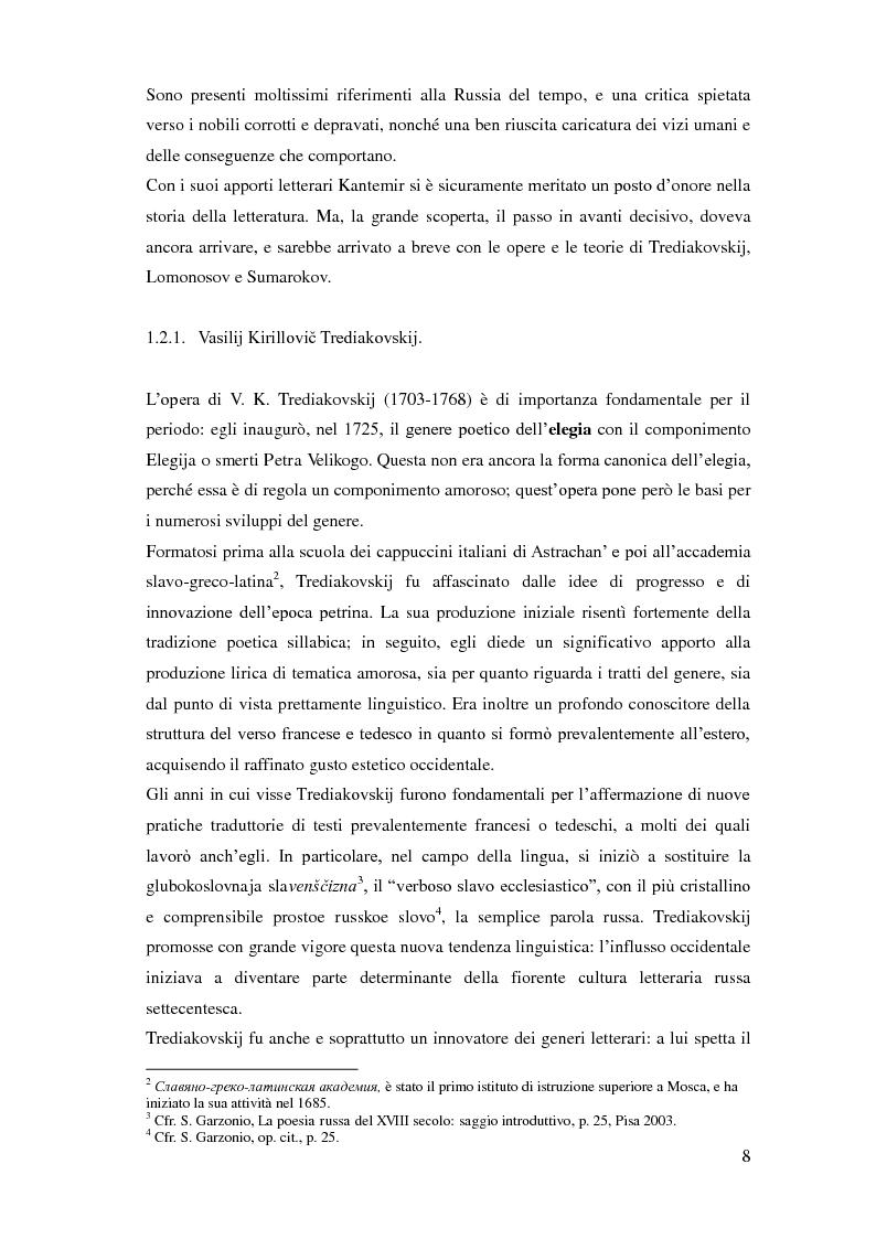 Estratto dalla tesi: La riforma del verso russo nel XVIII secolo