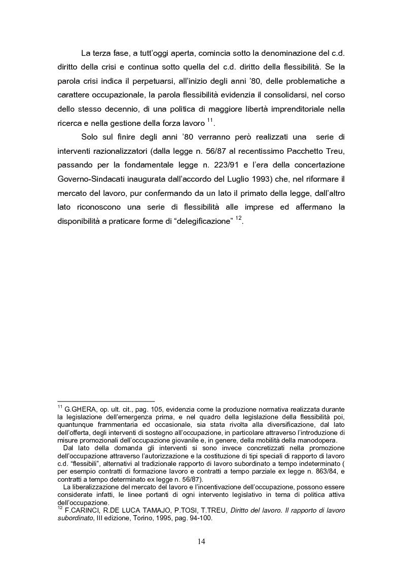Anteprima della tesi: Il reinserimento lavorativo dei soggetti in stato di disagio sociale, Pagina 10