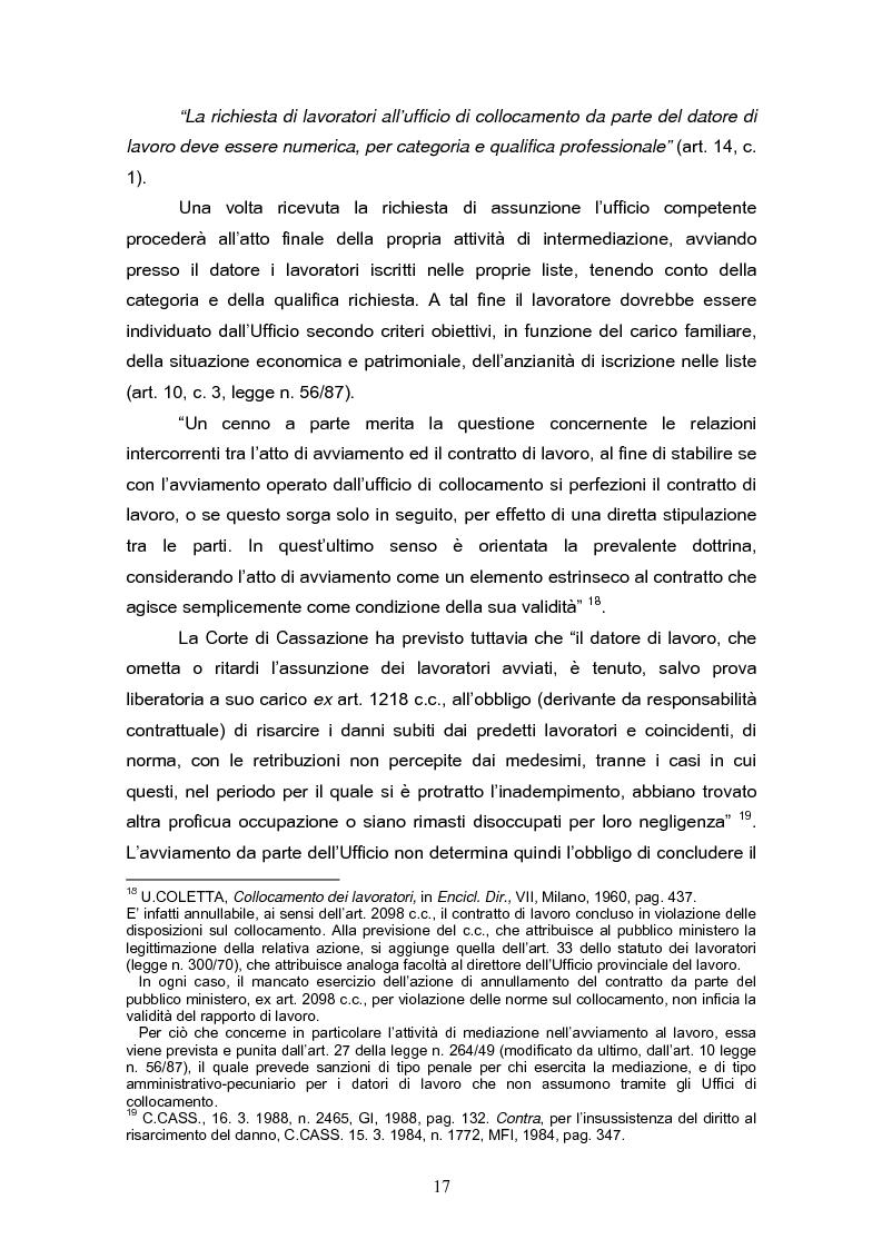 Anteprima della tesi: Il reinserimento lavorativo dei soggetti in stato di disagio sociale, Pagina 13