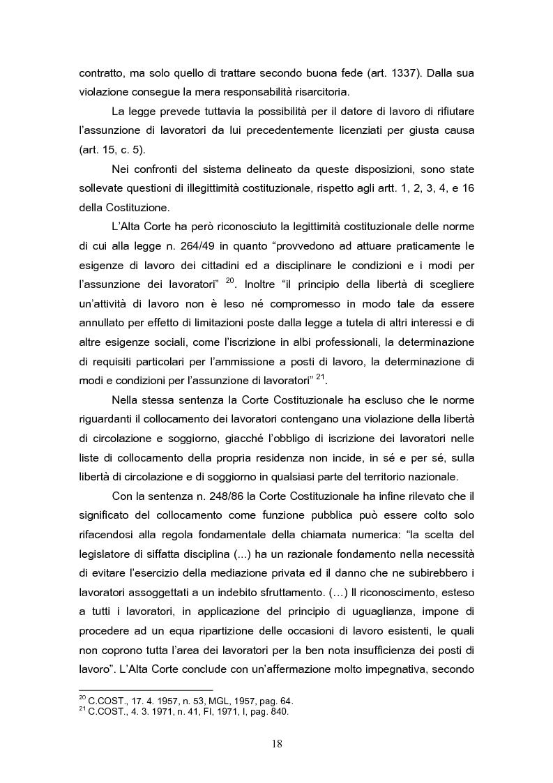 Anteprima della tesi: Il reinserimento lavorativo dei soggetti in stato di disagio sociale, Pagina 14