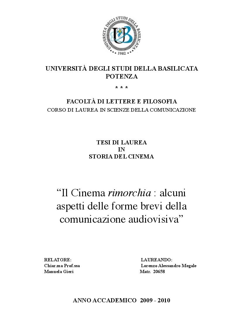 Universit degli studi della basilicata potenza for Design della comunicazione universita