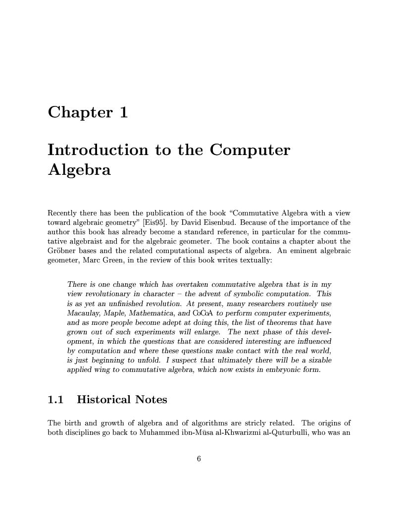 Anteprima della tesi: The Design of the CoCoA 3 System, Pagina 3