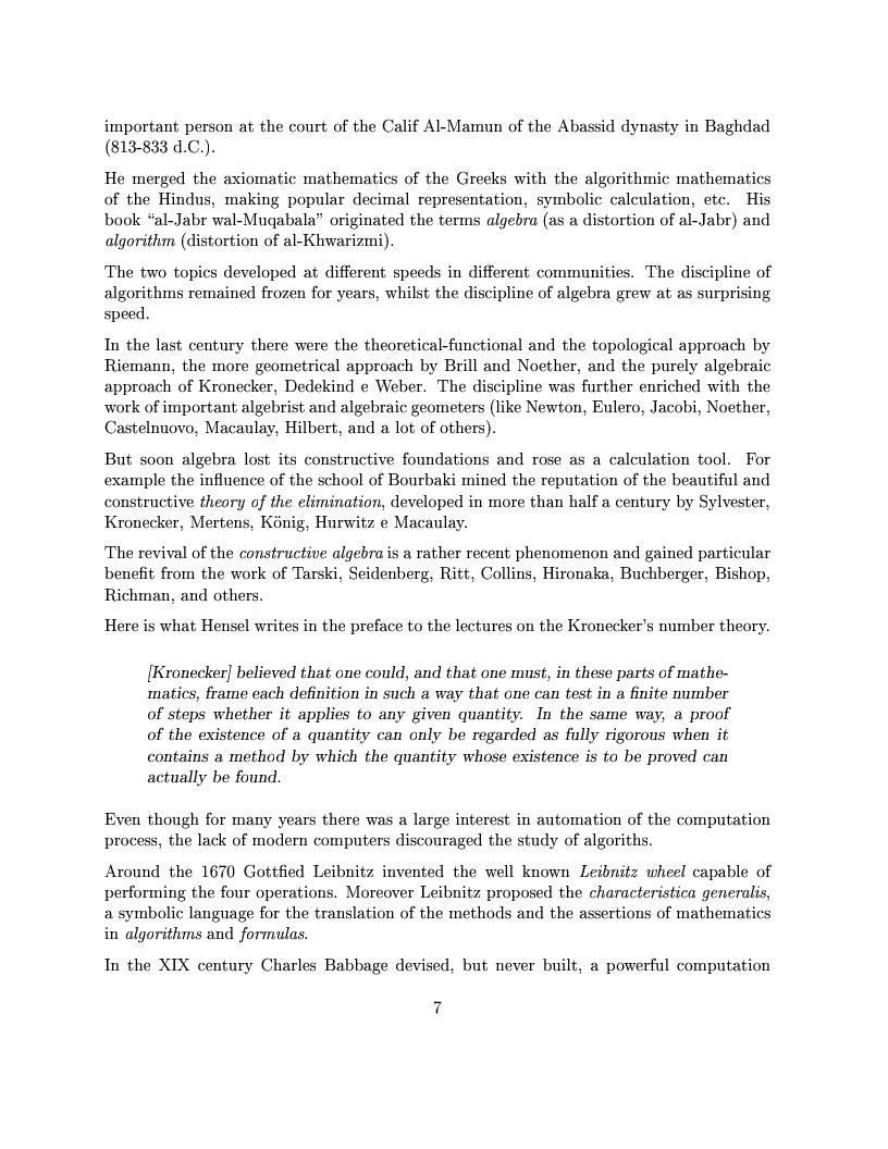 Anteprima della tesi: The Design of the CoCoA 3 System, Pagina 4