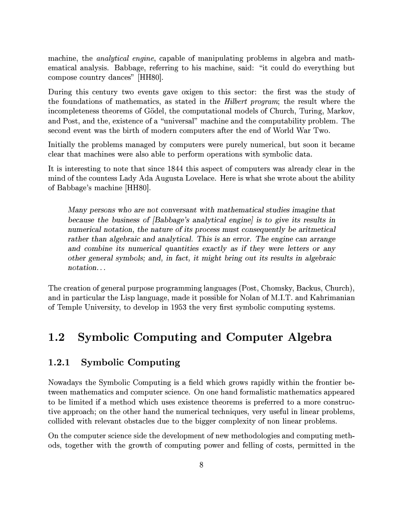 Anteprima della tesi: The Design of the CoCoA 3 System, Pagina 5