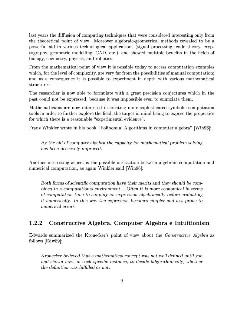 Anteprima della tesi: The Design of the CoCoA 3 System, Pagina 6