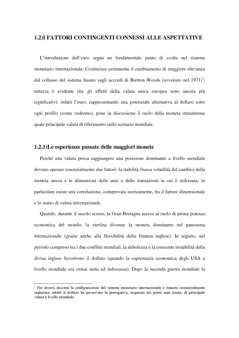 Anteprima della tesi: Le implicazioni della moneta unica europea per i mercati obbligazionari internazionali: un'analisi di medio periodo, Pagina 12