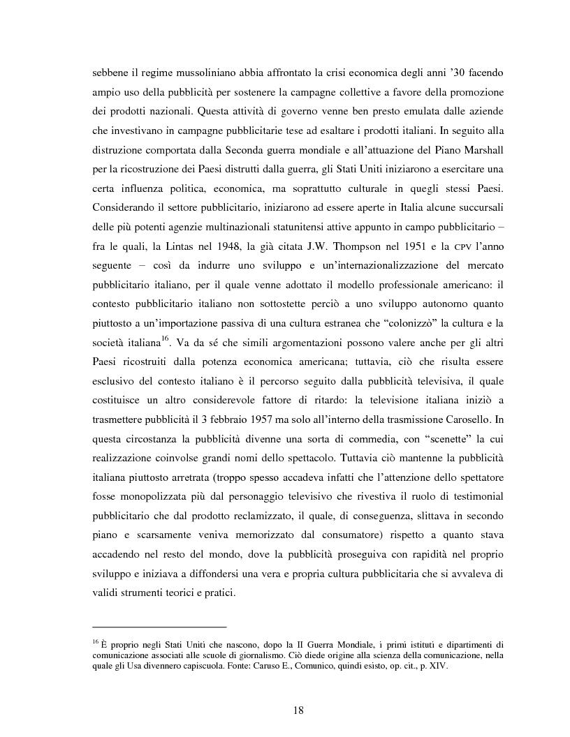 """Anteprima della tesi: Comunicazione e impresa: attori, canali e processi editoriali al servizio del business. Case study: """"Fruitbook"""", Pagina 13"""