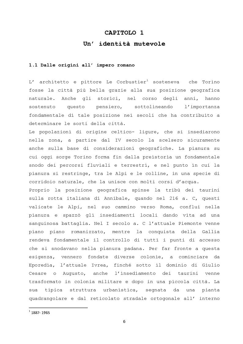Anteprima della tesi: Il ruolo dei cambiamenti socio - culturali nella creazione di una nuova meta turistica: il caso Torino, Pagina 4
