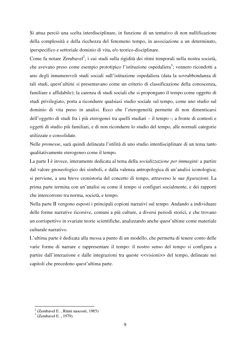 Anteprima della tesi: Vedere il Tempo. Analisi Transtorica e Transculturale dei Sistemi di Temporalità, Pagina 5