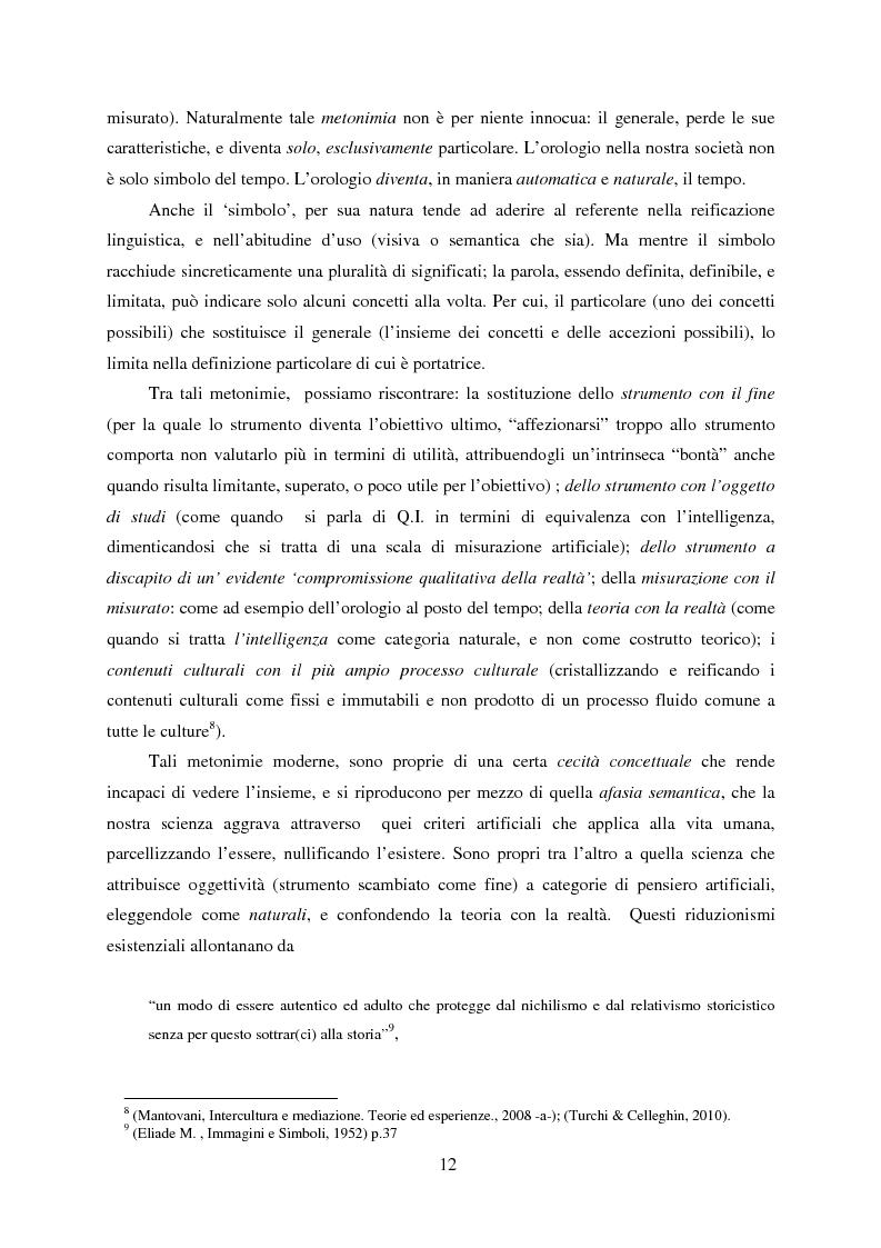 Anteprima della tesi: Vedere il Tempo. Analisi Transtorica e Transculturale dei Sistemi di Temporalità, Pagina 8