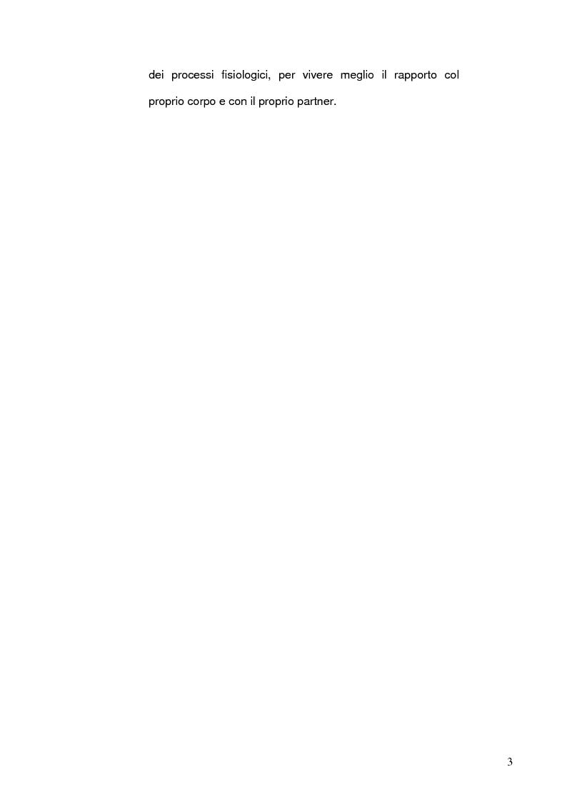 Anteprima della tesi: Benessere psicofisico, relazione di coppia e sessualità in gravidanza. L'Ostetrica e il Counselling sessuologico sulla base di una indagine conoscitiva., Pagina 4