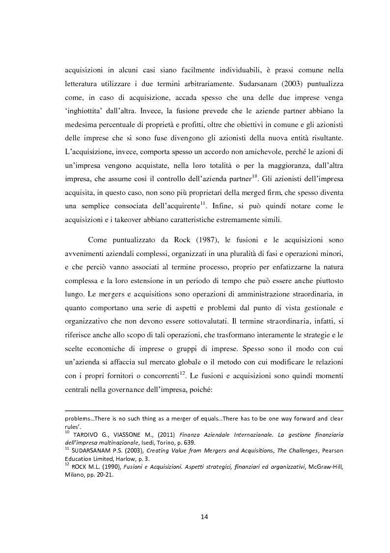 Anteprima della tesi: Fusioni e Acquisizioni: il caso Intesa Sanpaolo., Pagina 10