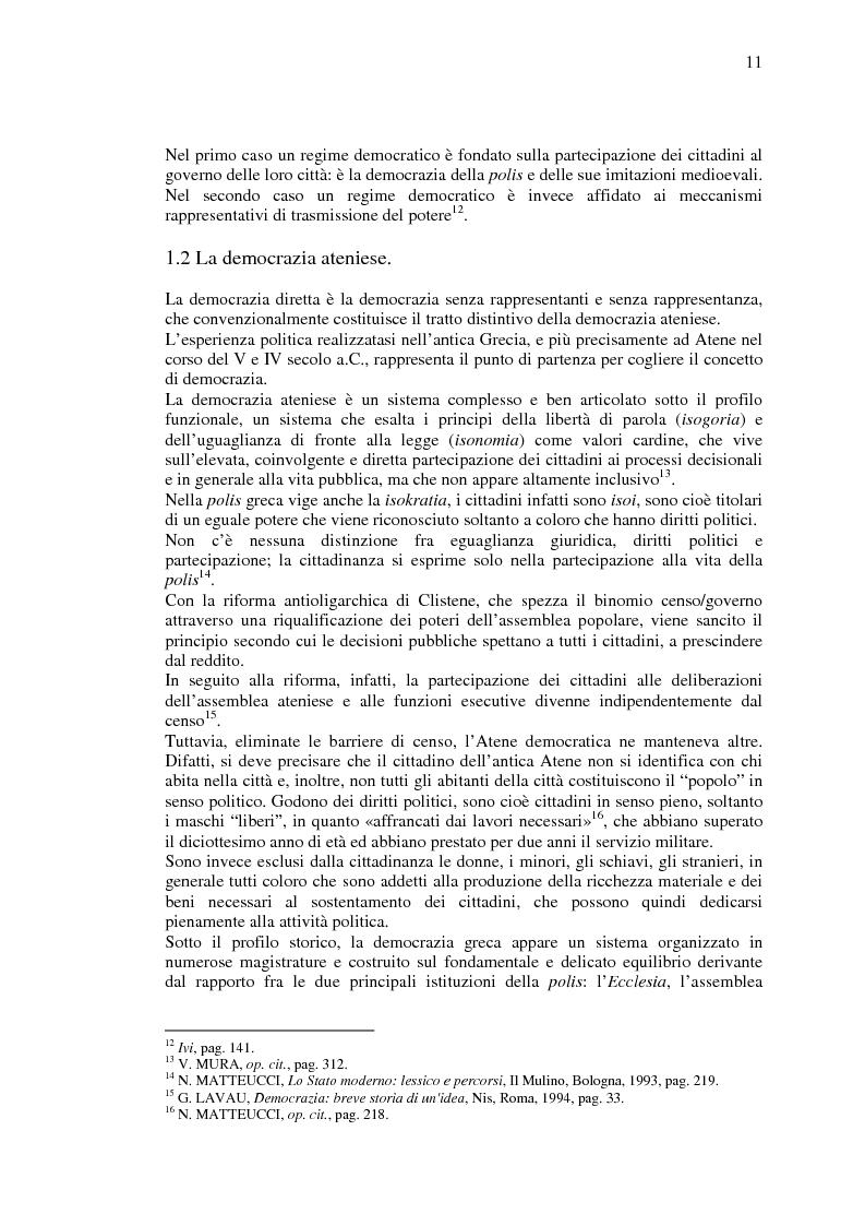 Anteprima della tesi: La democrazia del Profeta: per un confronto tra concetto occidentale e concetto islamico di democrazia., Pagina 10
