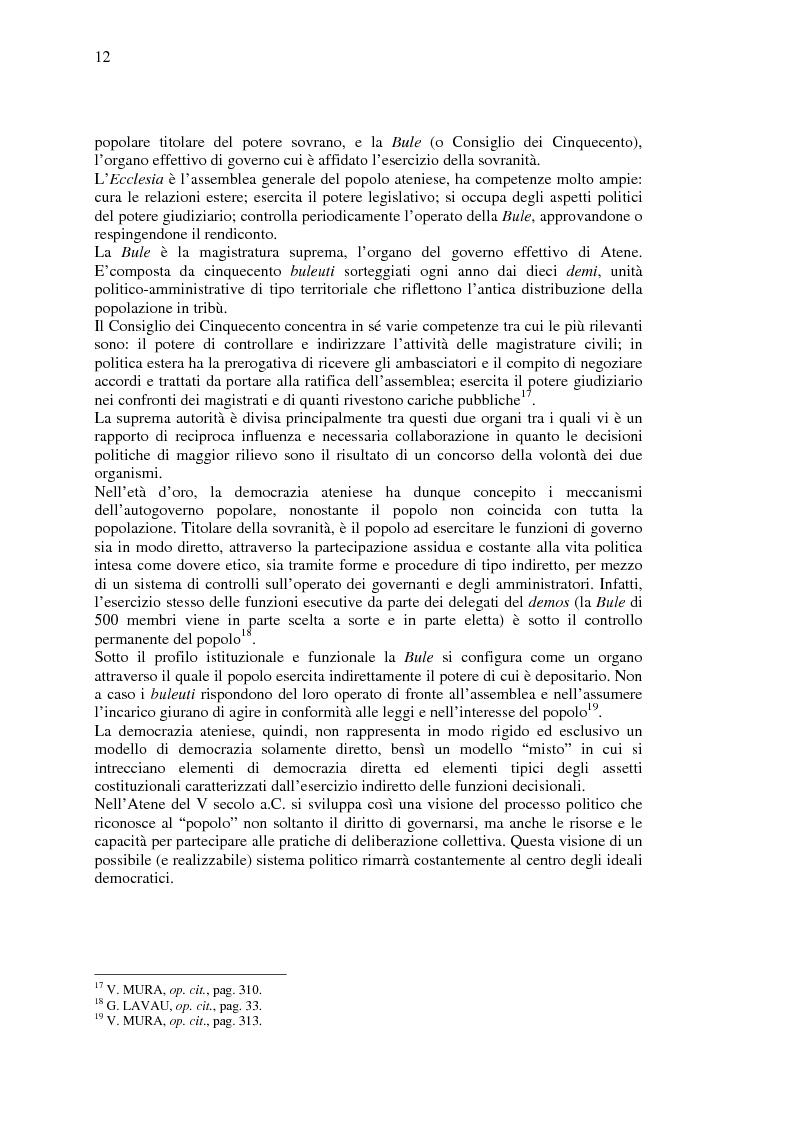 Anteprima della tesi: La democrazia del Profeta: per un confronto tra concetto occidentale e concetto islamico di democrazia., Pagina 11