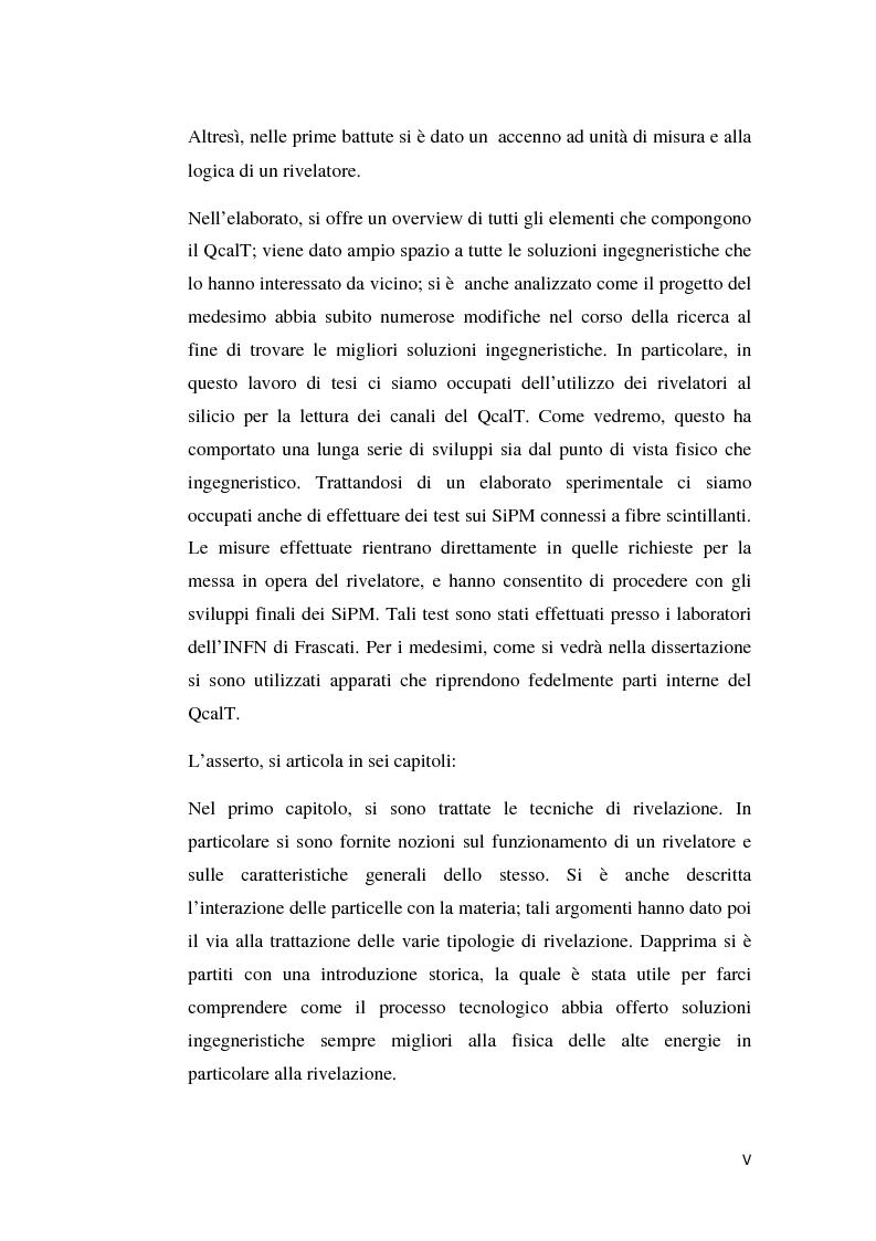 Anteprima della tesi: Utilizzo del silicio nella fisica delle alte energie: ingegnerizzazione e costruzione del calorimetro QcalT, Pagina 3