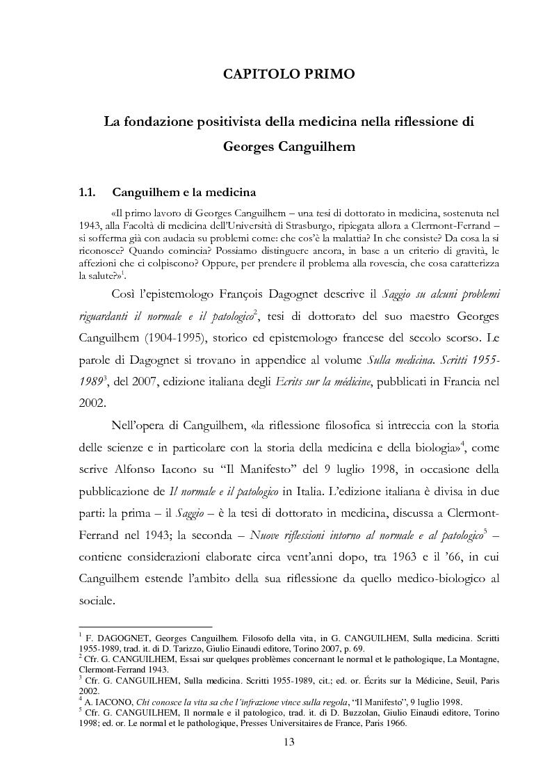 Anteprima della tesi: Politiche della salute. Percorsi critici della medicina contemporanea, Pagina 11