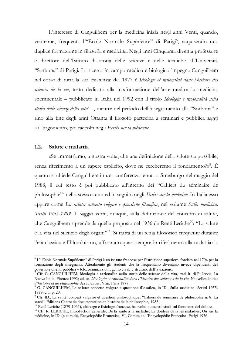 Anteprima della tesi: Politiche della salute. Percorsi critici della medicina contemporanea, Pagina 12