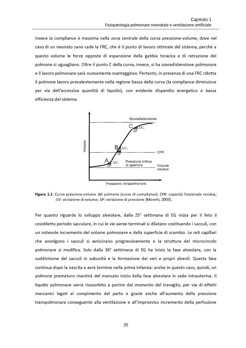 Anteprima della tesi: Modello matematico di interazione tra emodinamica e ventilazione meccanica ad alta frequenza respiratoria in neonati pretermine, Pagina 7