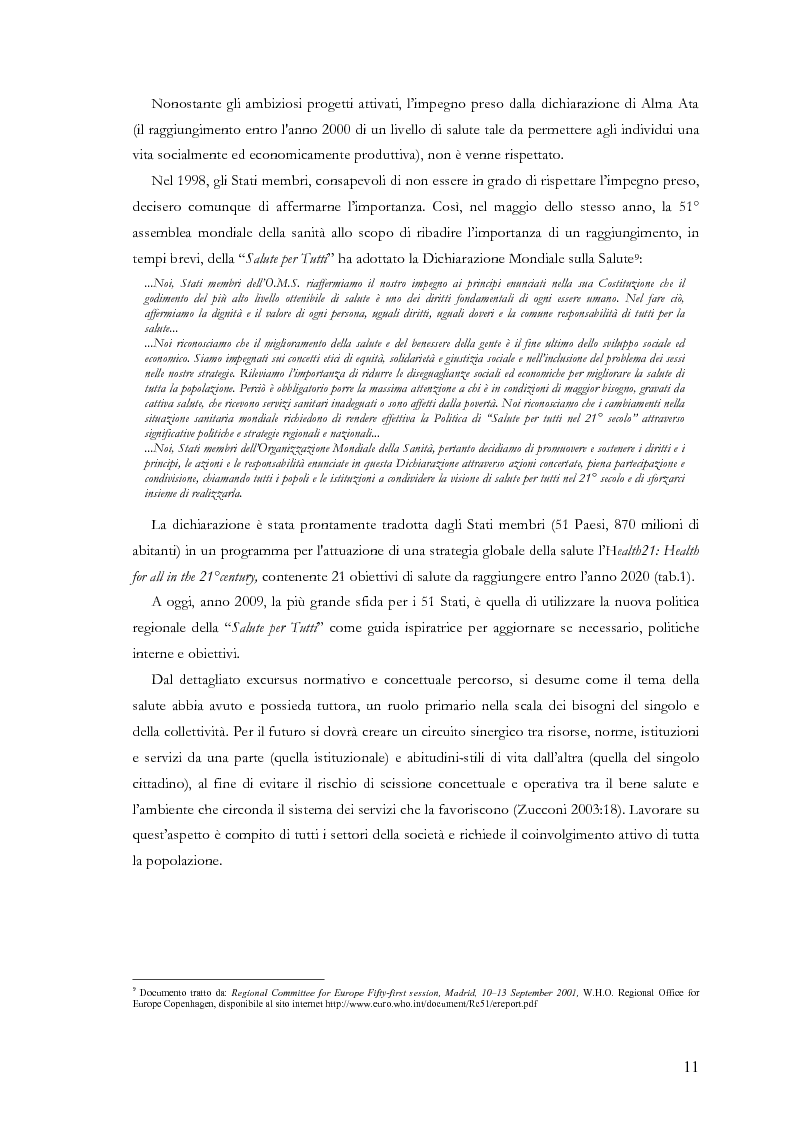 Anteprima della tesi: La comunicazione nelle aziende sanitarie. Il caso dell'Ospedale Riabilitativo di Alta Specializzazione di Motta di Livenza, Pagina 10