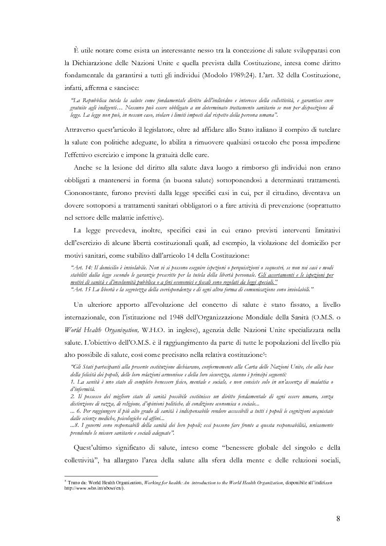 Anteprima della tesi: La comunicazione nelle aziende sanitarie. Il caso dell'Ospedale Riabilitativo di Alta Specializzazione di Motta di Livenza, Pagina 7