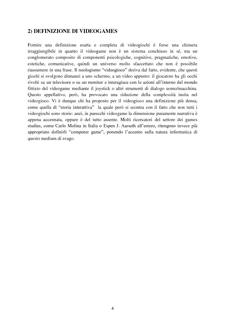 Anteprima della tesi: Strategie e Marketing del mercato videoludico, Pagina 3