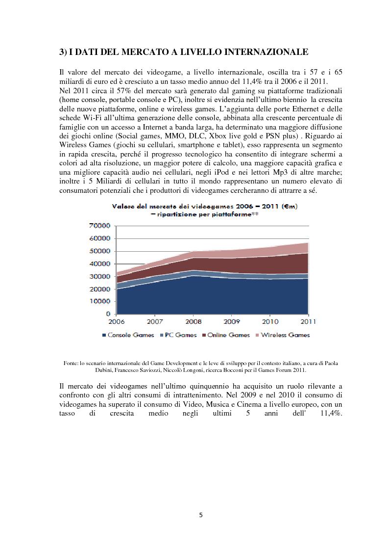 Anteprima della tesi: Strategie e Marketing del mercato videoludico, Pagina 4