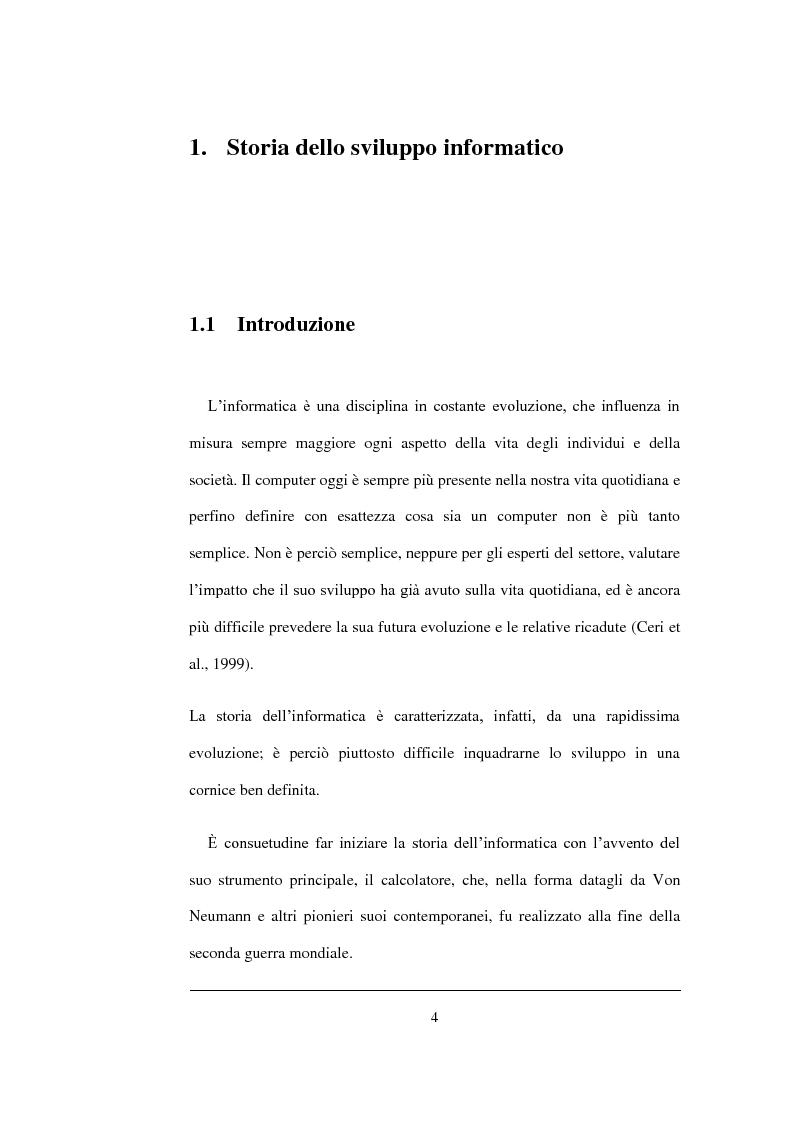 Anteprima della tesi: Un'analisi statistica sul Digital Divide in Italia, Pagina 5