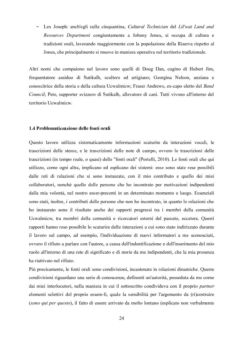 Anteprima della tesi: Ucwalmicw T'micw, la nostra terra: dinamiche di gestione fondiaria dei territori indigeni in British Columbia, Pagina 14