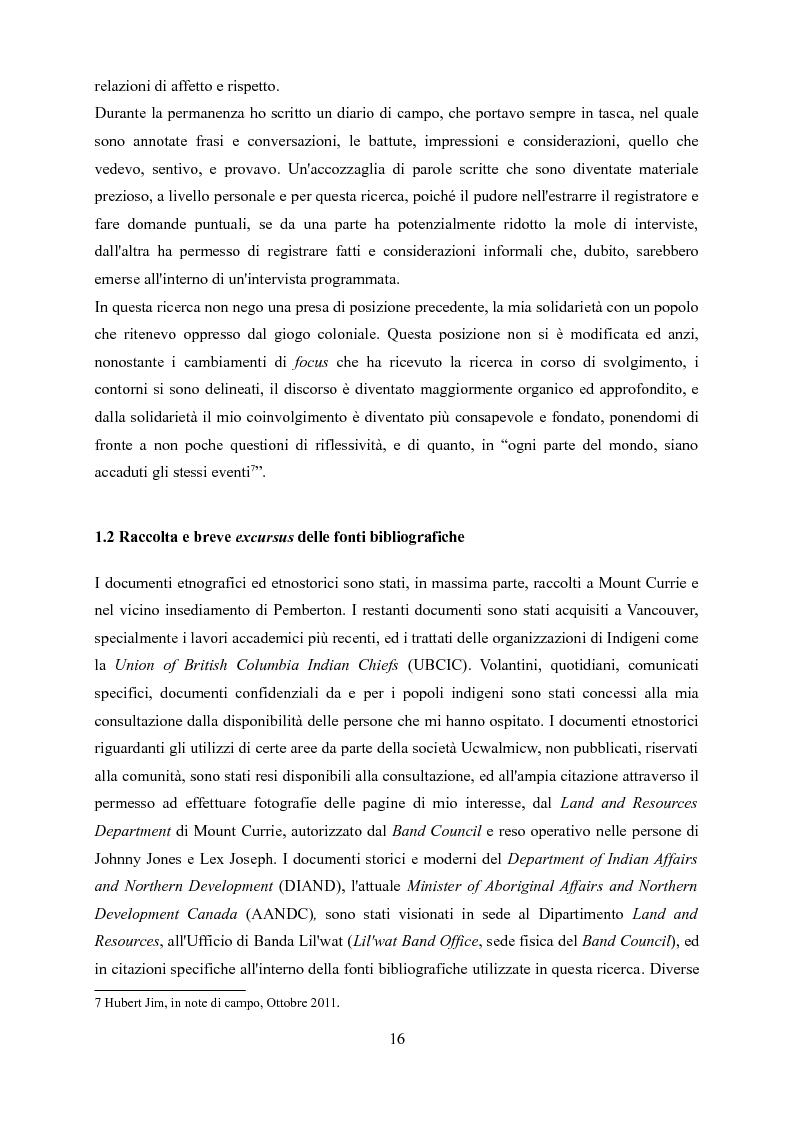 Anteprima della tesi: Ucwalmicw T'micw, la nostra terra: dinamiche di gestione fondiaria dei territori indigeni in British Columbia, Pagina 6