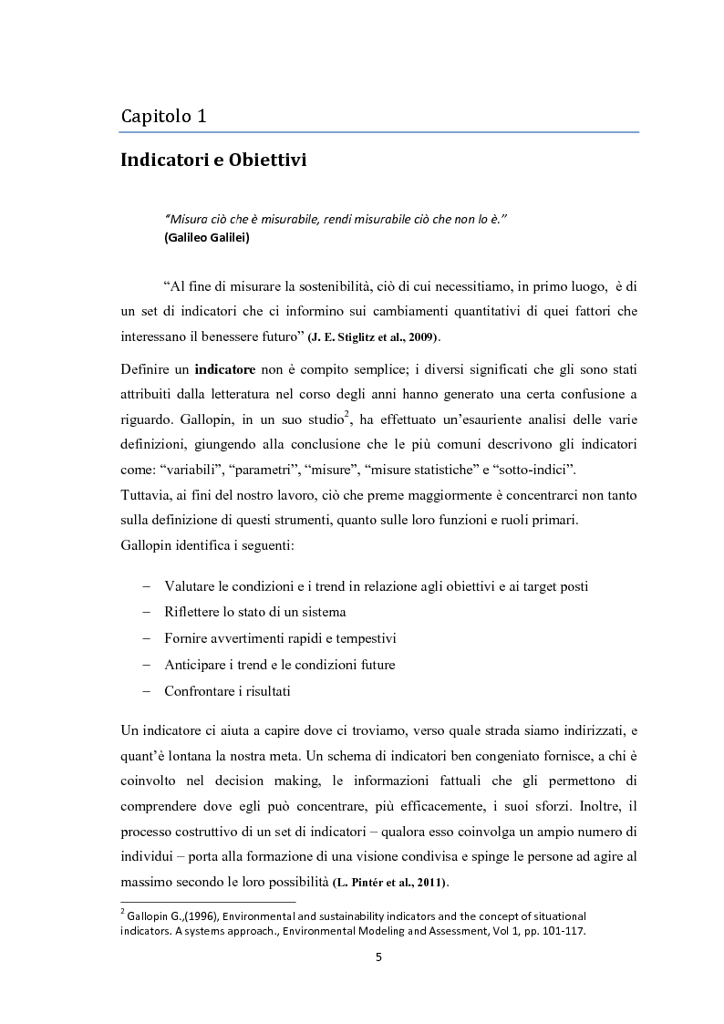 Anteprima della tesi: Sostenibilità aziendale. Strumenti per il controllo., Pagina 4