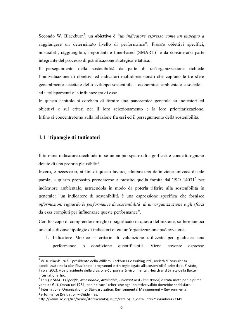 Anteprima della tesi: Sostenibilità aziendale. Strumenti per il controllo., Pagina 5