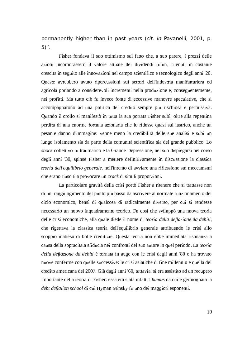 Anteprima della tesi: Instabilità e crisi finanziaria: il caso dell'Irlanda, Pagina 7