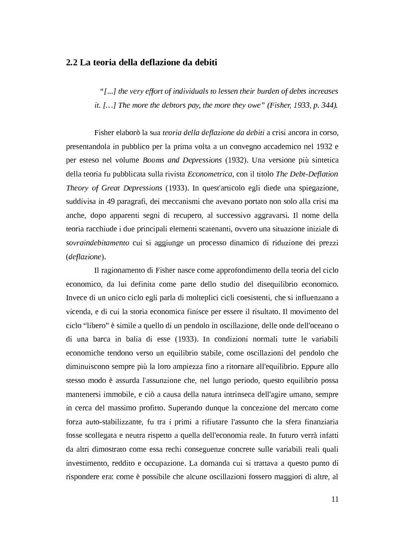 Anteprima della tesi: Instabilità e crisi finanziaria: il caso dell'Irlanda, Pagina 8