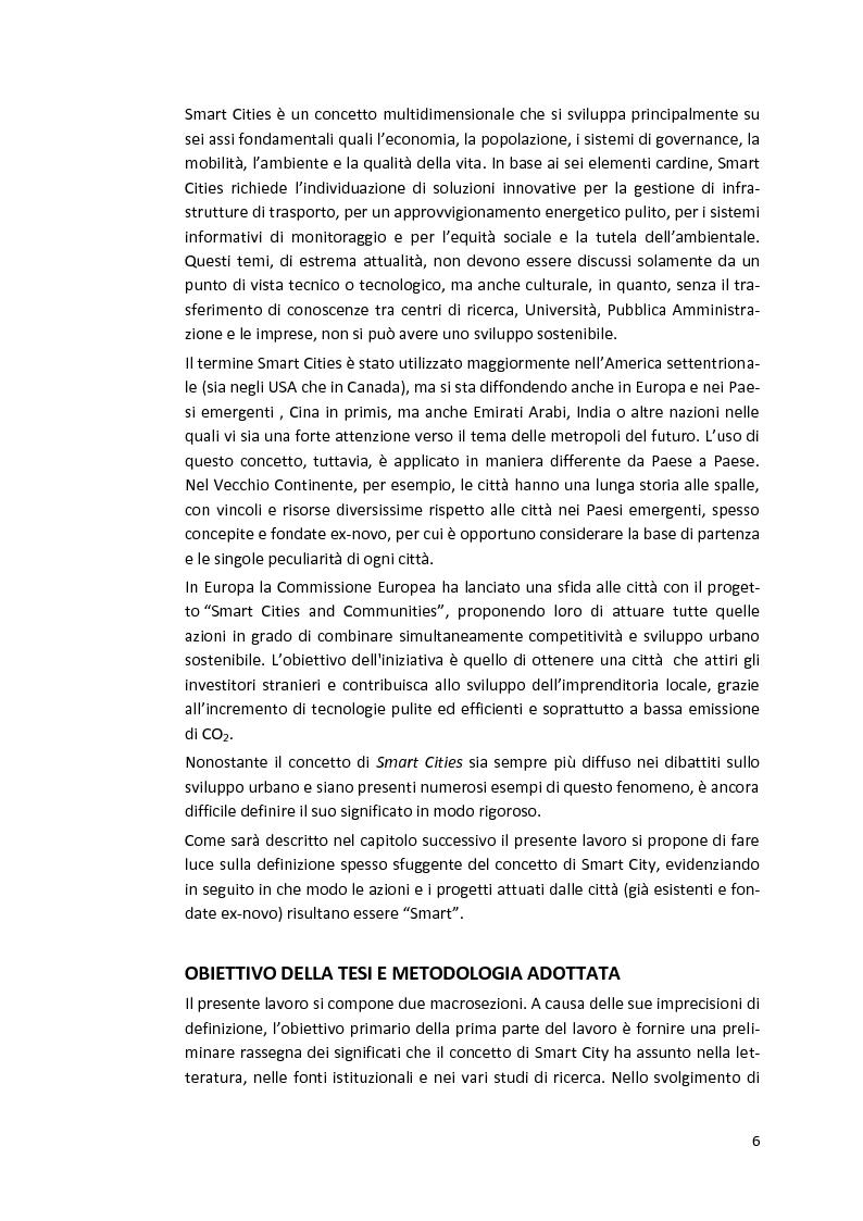 Anteprima della tesi: Smart Cities. Definizioni e confronti, Pagina 4