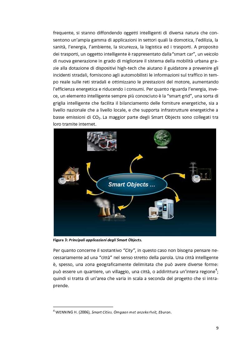 Anteprima della tesi: Smart Cities. Definizioni e confronti, Pagina 7