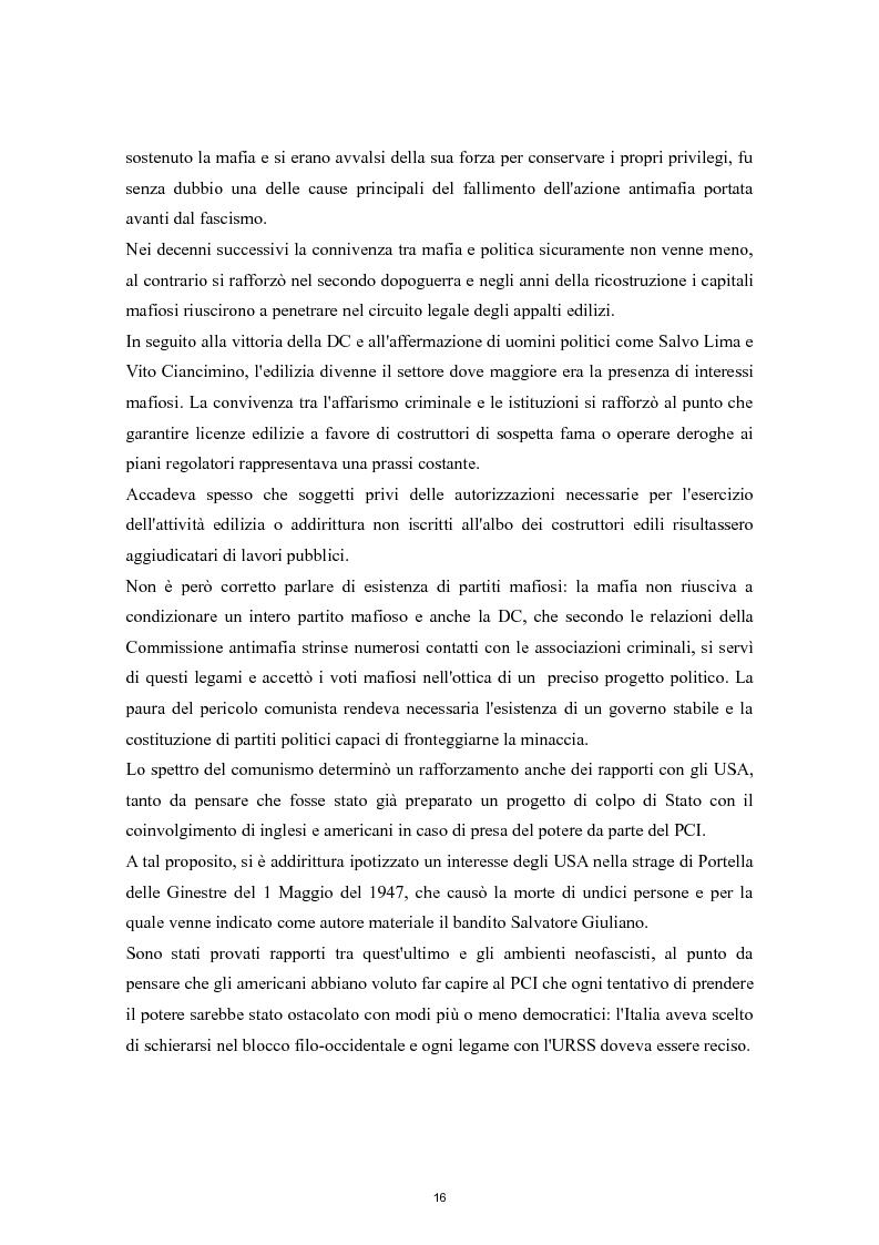Anteprima della tesi: Cooperazione Internazionale e lotta alla criminalità organizzata, Pagina 11