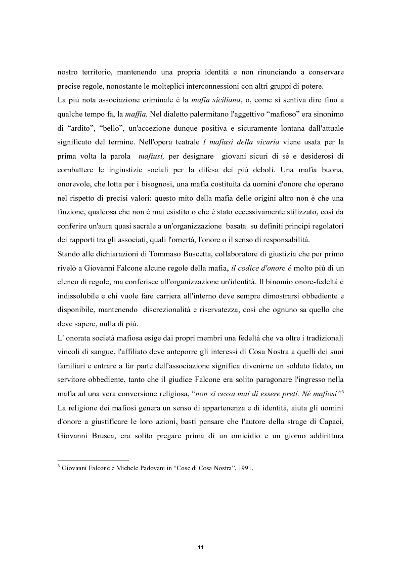 Anteprima della tesi: Cooperazione Internazionale e lotta alla criminalità organizzata, Pagina 6