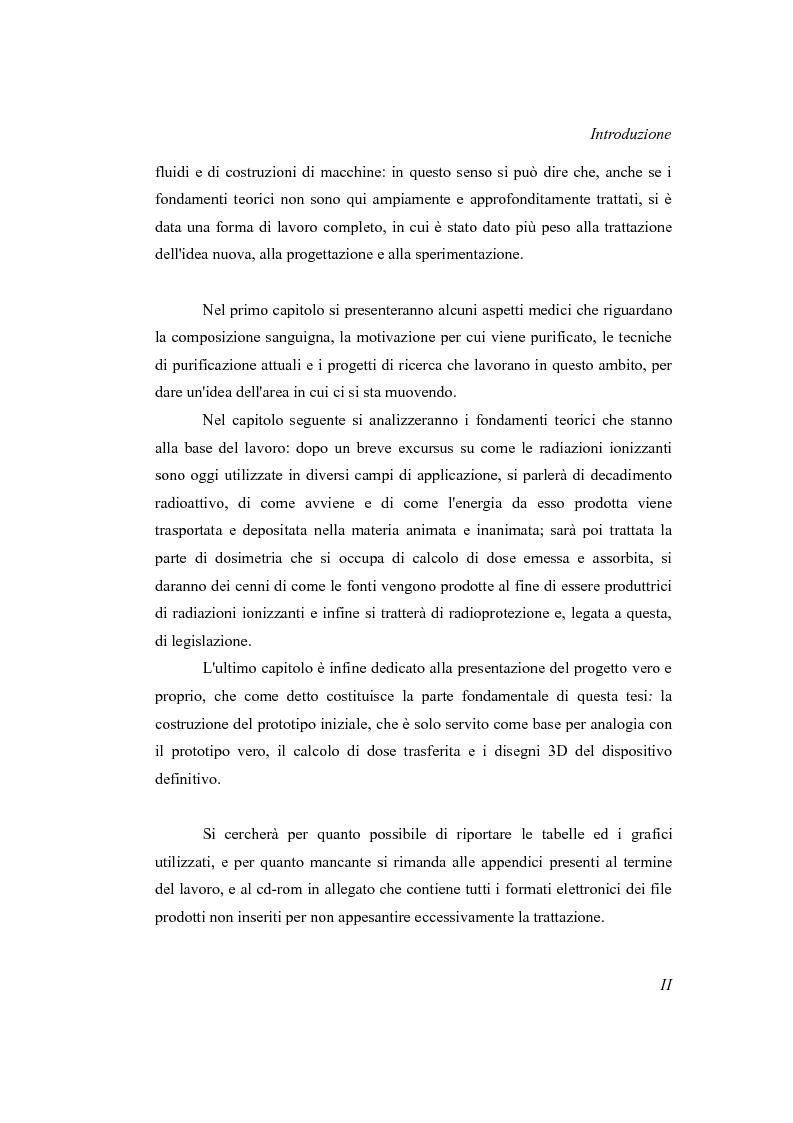 Anteprima della tesi: Progetto di un irraggiatore per sangue umano, Pagina 3