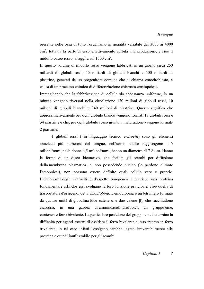 Anteprima della tesi: Progetto di un irraggiatore per sangue umano, Pagina 7