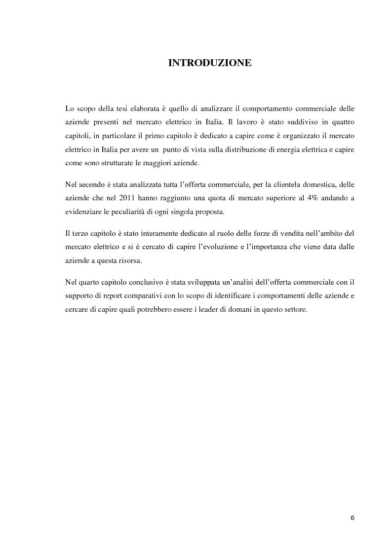 Anteprima della tesi: L'offerta commerciale nel mercato elettrico italiano, Pagina 2