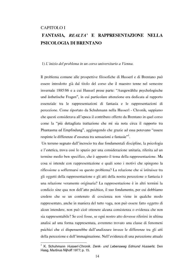 Anteprima della tesi: Entelechia, intenzionalità e costituzione dell'oggetto: una lettura fenomenologica, Pagina 6
