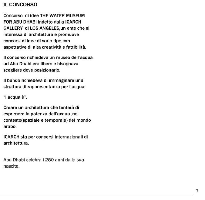 Anteprima della tesi: Museo dell'Acqua ad Abu Dhabi, Pagina 2