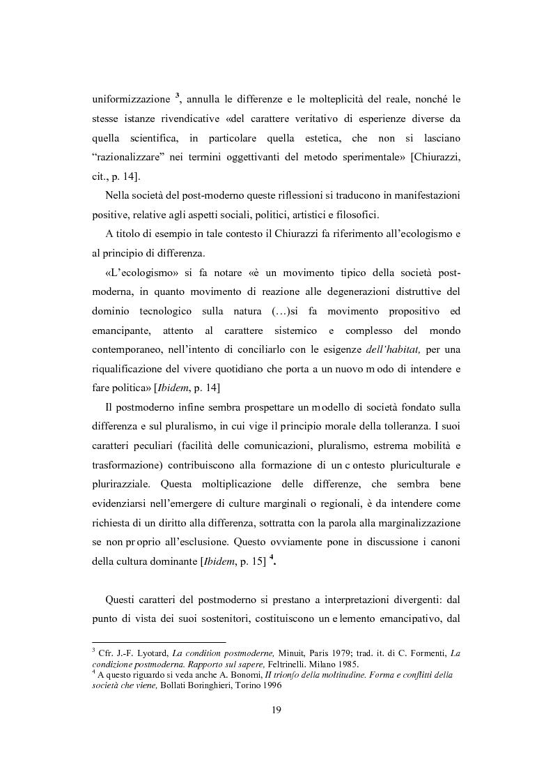 Anteprima della tesi: La visione estetica di Herbert Read fra umano e postumano, Pagina 11