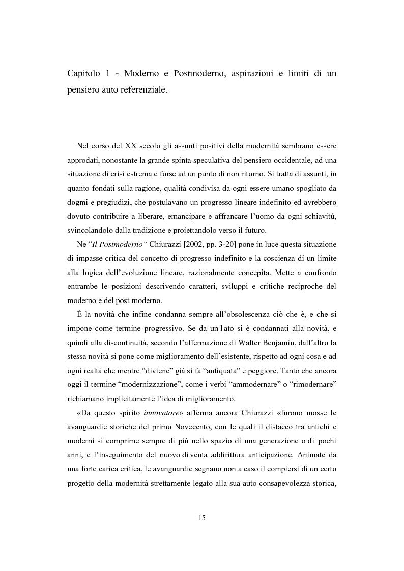 Anteprima della tesi: La visione estetica di Herbert Read fra umano e postumano, Pagina 7