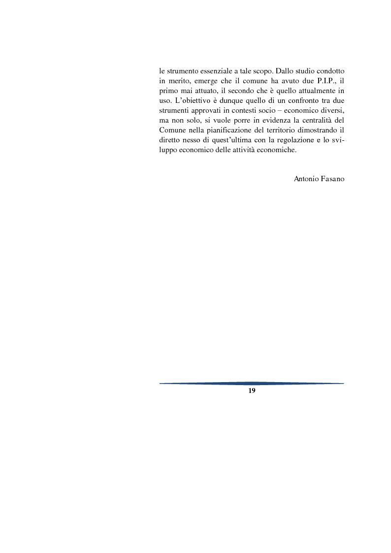 Anteprima della tesi: Il piano degli insediamenti produttivi tra governo del territorio e regolazione delle attività economiche. Il caso del comune di Teggiano, Pagina 6