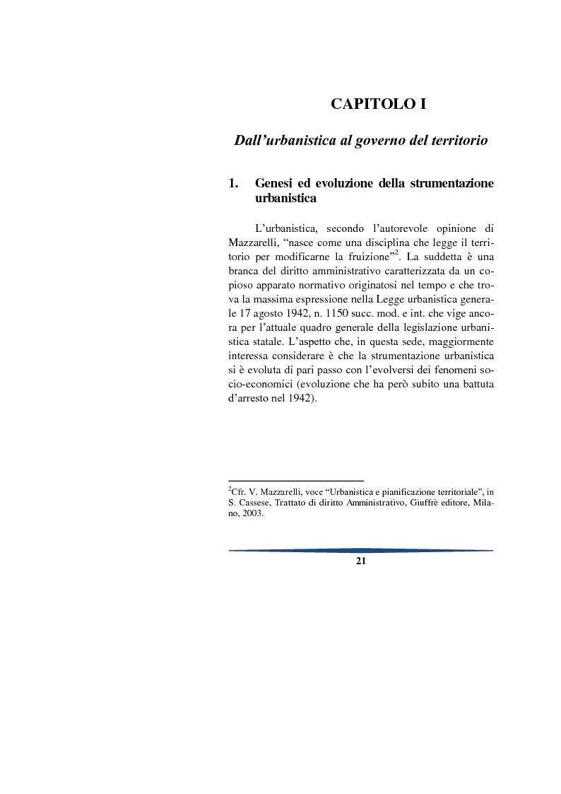 Anteprima della tesi: Il piano degli insediamenti produttivi tra governo del territorio e regolazione delle attività economiche. Il caso del comune di Teggiano, Pagina 7