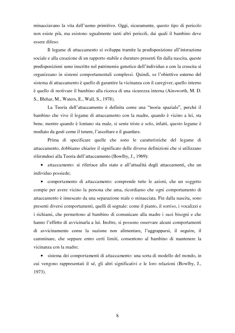 Anteprima della tesi: Le rappresentazioni mentali in gravidanza nella genitorialità tipica e ''a rischio'': strategie di prevenzione e di intervento precoce, Pagina 9